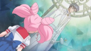 Sailor Moon Crystal Act 20 - Chibiusa and King Endymion