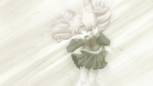 Sailor Moon Crystal Act 20 - Chibiusa without Diana surviving the attack on Crystal Tokyo