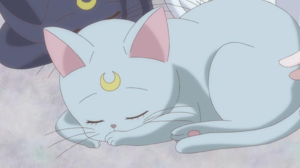 Sailor Moon Crystal Act 20 - Diana sleeping