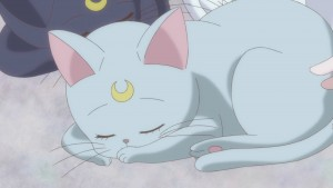 Sailor Moon Crystal Act 20 - Diana sleeping