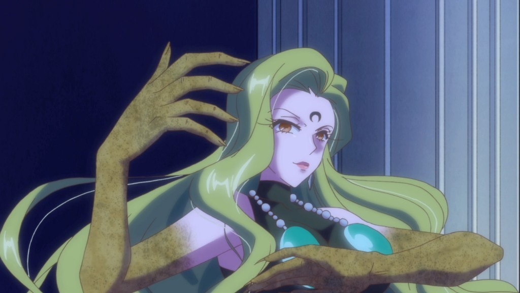 Sailor Moon Crystal Act 20 - Esmeraude and her magic arms