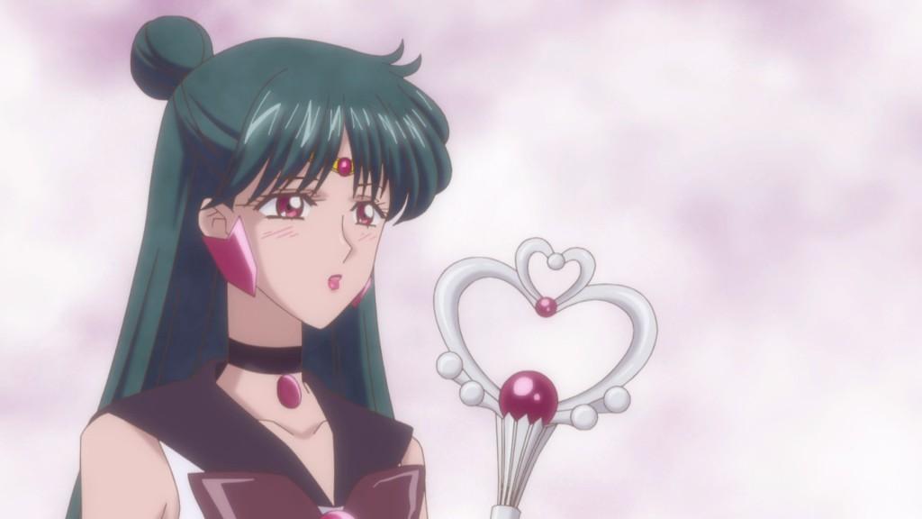 Sailor Moon Crystal Act 20 - Sailor Pluto crushing on Tuxedo Mask