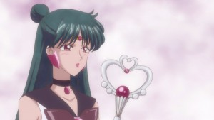 Sailor Moon Crystal Act 20 - Sailor Pluto crushing on Tuxedo Mask