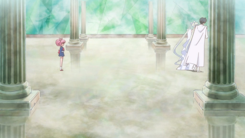 Sailor Moon Crystal Act 21 - Chibiusa, Queen Serenity and King Endymion
