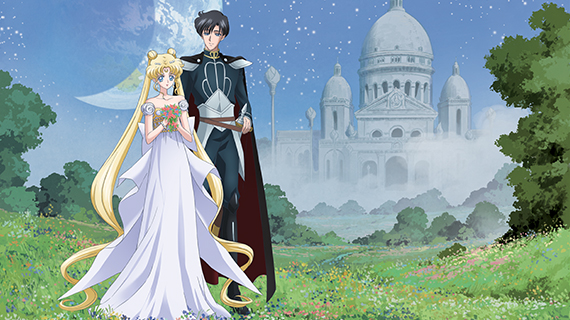 Sailor Moon Crystal banner - TOEI
