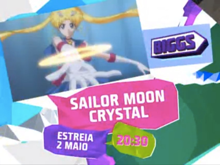 Sailor Moon Crystal to air in Portugal on May 2nd