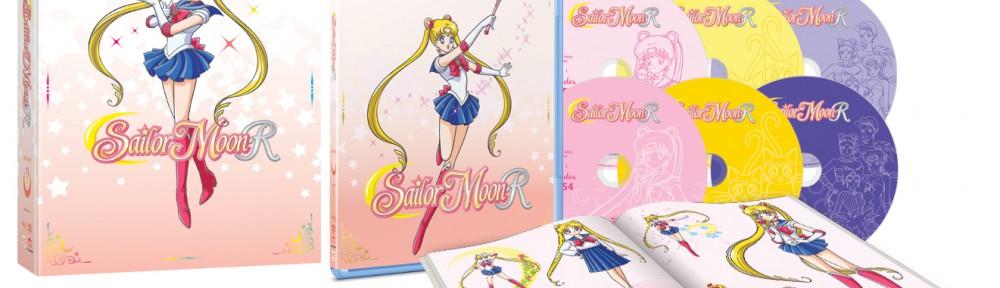 Sailor Moon R: Season 2 Part 1 Blu-Ray and DVD Box