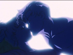 Sailor Moon S episode 94 - Naked Usagi and Mamoru or Adam and Eve