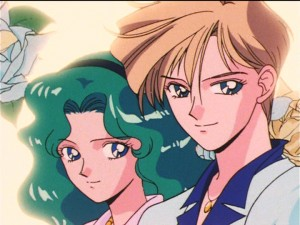 Sailor Moon S episode 95 - Michiru and Haruka
