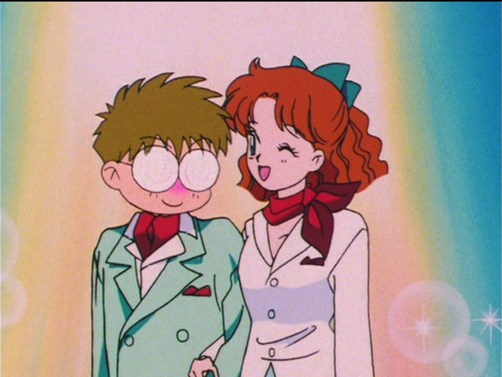 Sailor Moon S episode 95 - Umino and Naru