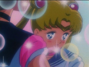 Sailor Moon S episode 98 - Sailor Moon crushing on Sailor Uranus