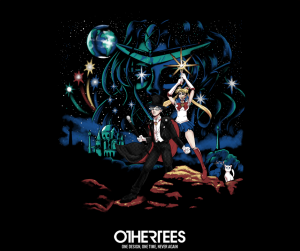 Moon Wars Sailor Moon/Star Wars t-shirt