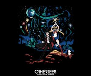 Moon Wars Sailor Moon/Star Wars t-shirt