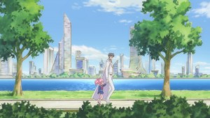 Sailor Moon Crystal Act 21 - Chibiusa and King Endymion in the future