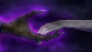 Sailor Moon Crystal Act 21 - Chibiusa takes Wiseman's hand