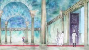 Sailor Moon Crystal Act 21 - Chibiusa watching her parents