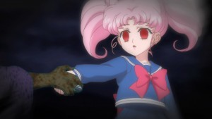 Sailor Moon Crystal Act 22 - Chibiusa takes Wiseman's hand