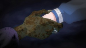 Sailor Moon Crystal Act 22 - Chibiusa takes Wiseman's hand