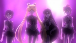 Sailor Moon Crystal Act 22 - The Sailor Guardians with a new background