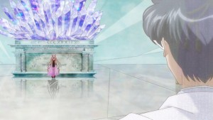 Sailor Moon Crystal Act 23 - King Endymion watching Black Lady