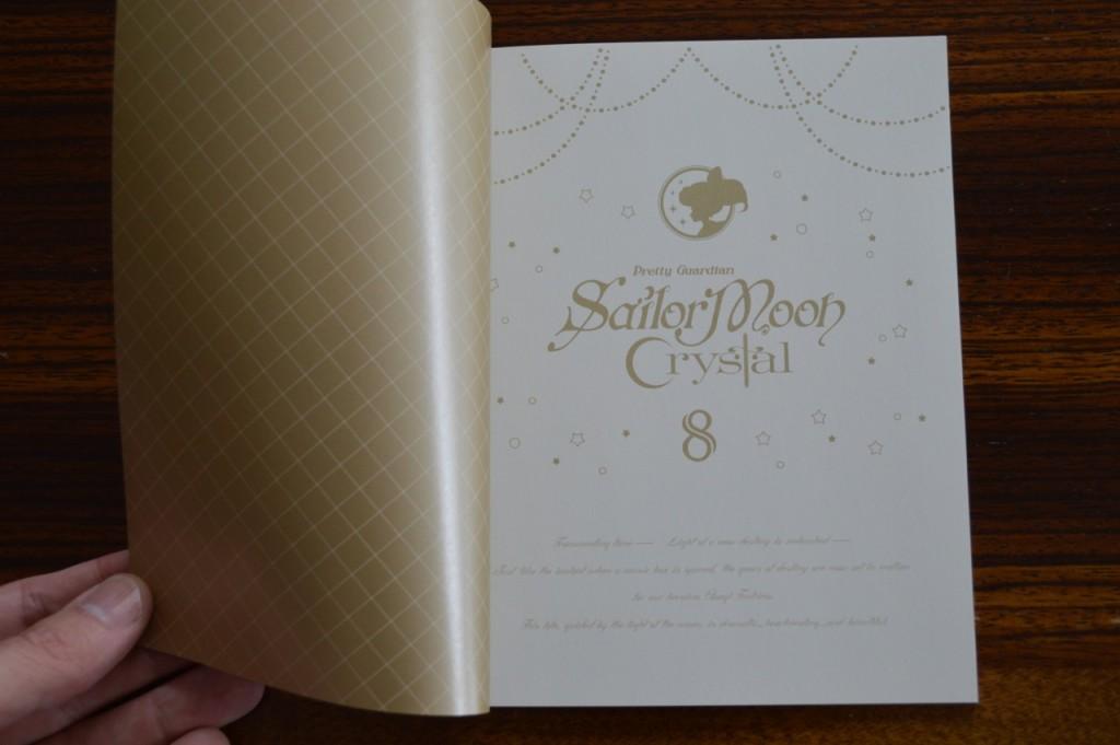 Sailor Moon Crystal Blu-Ray Vol. 8 - Special Booklet - Page 1