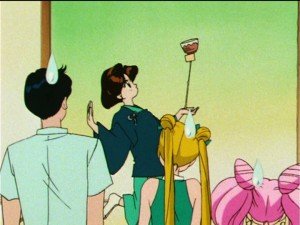 Sailor Moon S episode 104 - Tamasaburou's tea ceremony