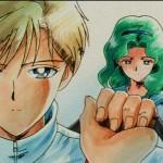 Sailor Moon S episode 106 - Haruka meets Michiru