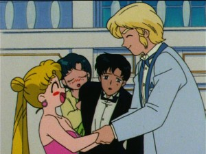 Sailor Moon S episode 108 - Drunk Usagi - Nice to meet you - Cream stew