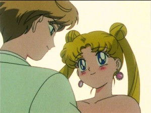 Sailor Moon S episode 108 - Haruka and Usagi