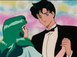 Sailor Moon S episode 108 - Michiru and Mamoru