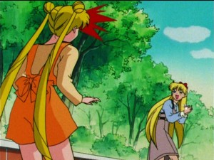 Sailor Moon S episode 109 - Minako runs off with her pure heart