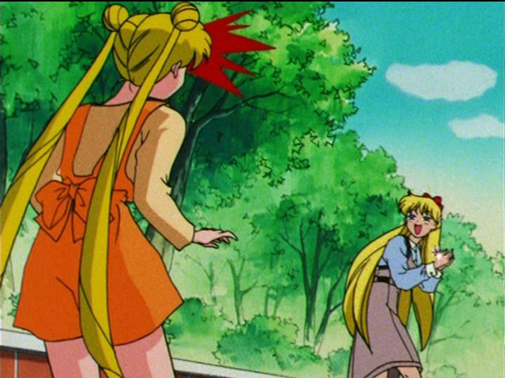 Sailor Moon S episode 109 - Minako runs off with her pure heart