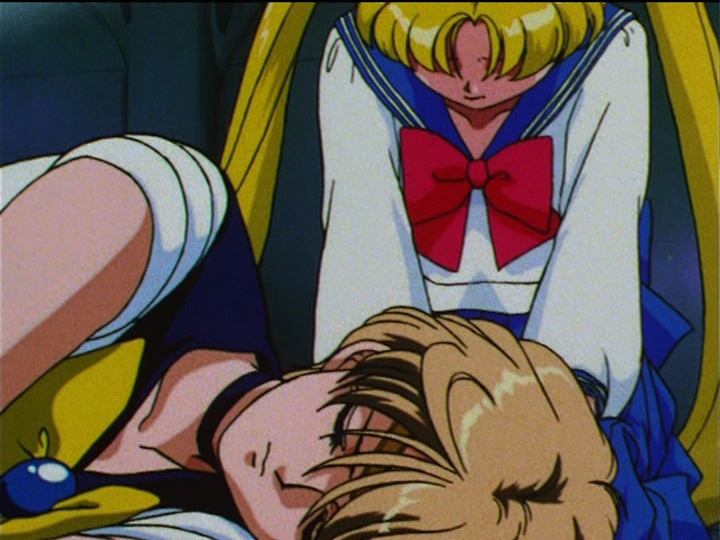Sailor Moon S episode 110 - Haruka dies