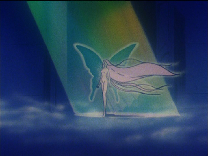 Sailor Moon S episode 110 - Usagi appears to be the Messiah