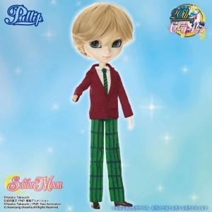 Sailor Uranus Pullip doll in Haruka civilian clothes