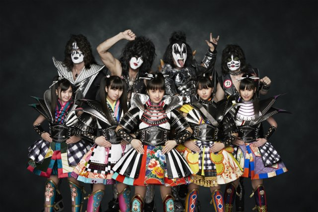 Momoiro Clover Z vs. KISS
