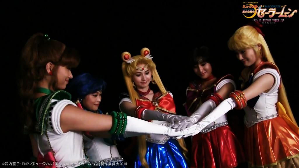 Pretty Guardian Sailor Moon Un Nouveau Voyage - Promo - The Sailor Guardians
