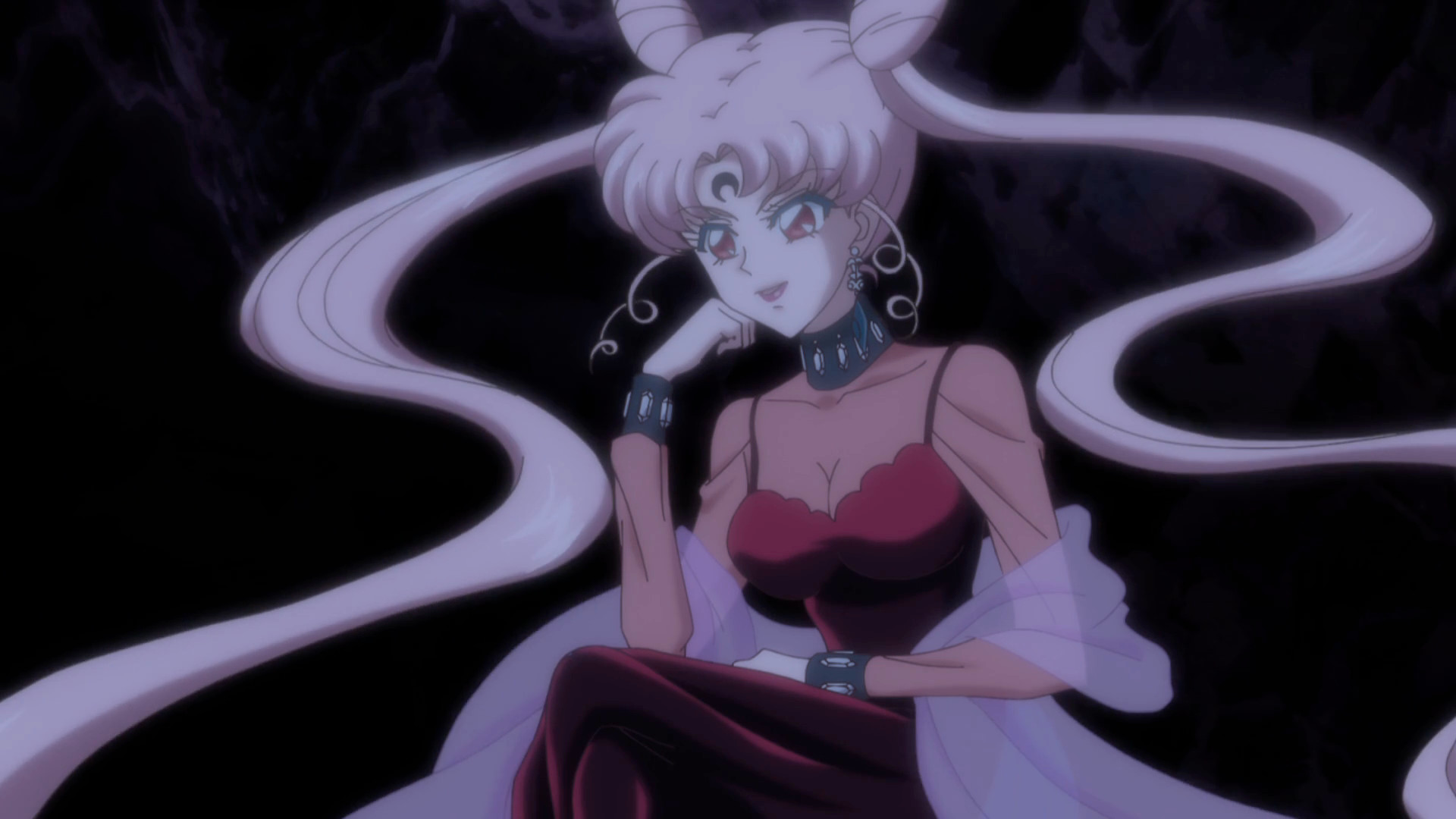 Sailor Moon Crystal Act 23 Black Lady Sailor Moon News