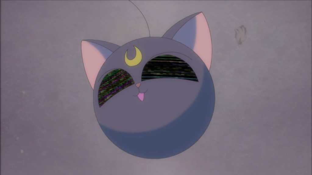 Sailor Moon Crystal Act 23 - Luna-P broken