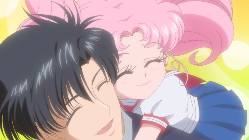 Sailor Moon Crystal Act 23 - Mamoru and Chibiusa