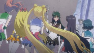 Sailor Moon Crystal Act 23 - Sailor Pluto warns the Sailor Guardians about getting lost in time