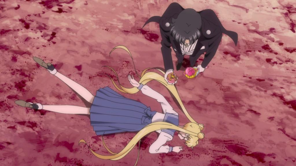 Sailor Moon Crystal Act 24 - Endymion takes Sailor Moon's Crystal Star Broach