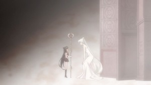 Sailor Moon Crystal Act 24 - Queen Serenity and Young Sailor Pluto
