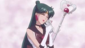 Sailor Moon Crystal Act 24 - Sailor Pluto and Diana