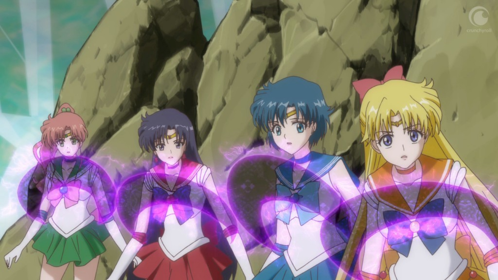 Sailor Moon Crystal Act 24 - The Sailor Guardians pinned down