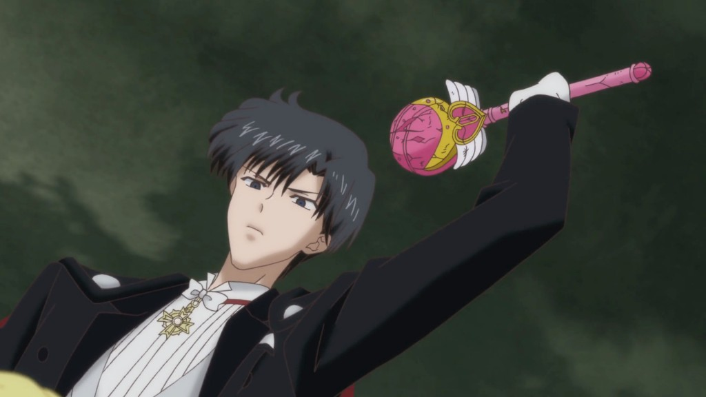 Sailor Moon Crystal Act 24 - Tuxedo Mask and the Cutie Moon Rod