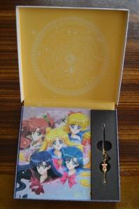 Sailor Moon Crystal Blu-Ray vol. 9 - Contents