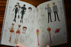 Sailor Moon Crystal Blu-Ray vol. 9 - Special Booklet - Pages 14 & 15 - Character designs