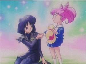 Sailor Moon S episode 112 - Hotaru and Chibiusa