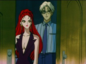 Sailor Moon S episode 113 - Kaolinite and Professor Tomoe